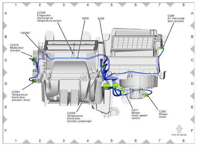 Passenger Side Blend Door Actuator Replacement: My Car Is a Hybrid
