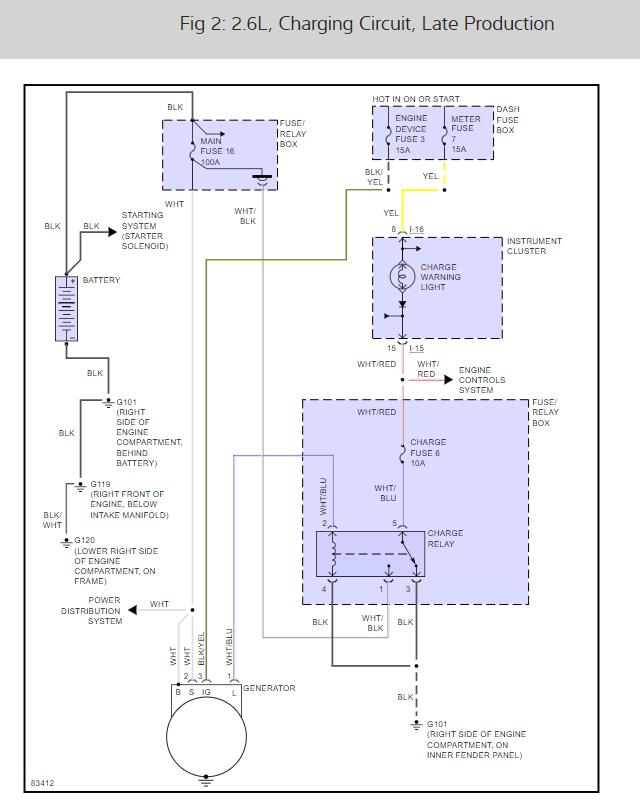 Alternator Plug Previous Owner Installed Non Standard Alternator