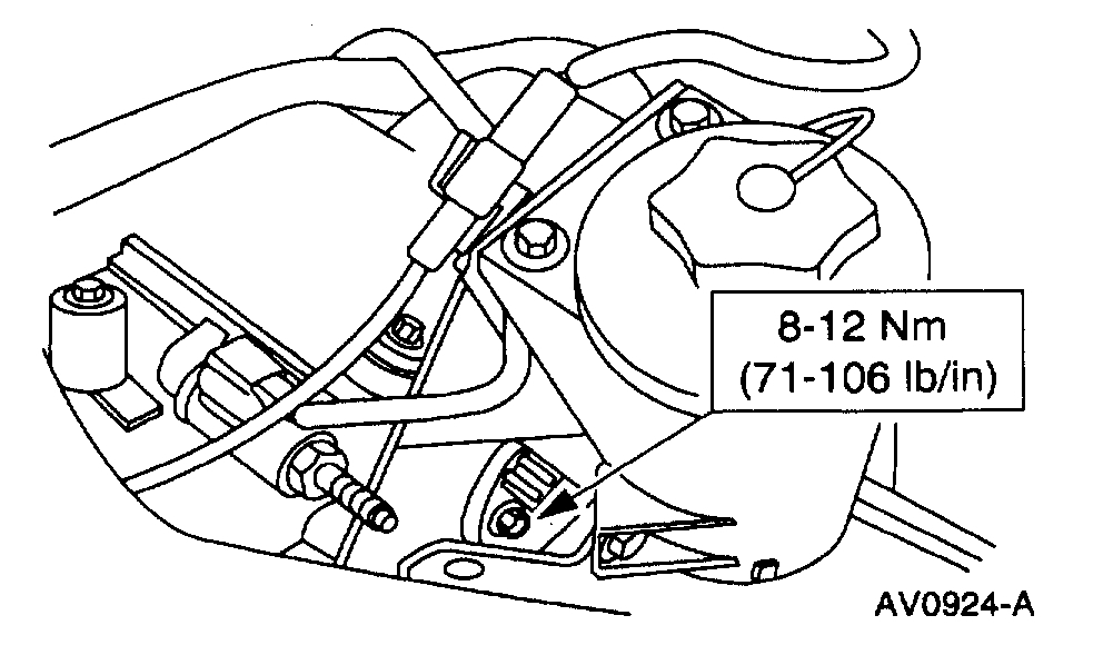 1999 Lincoln Town Car Fuel Filter Location