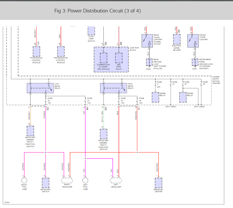 Tipm Wiring Diagram  No Electrical Power  Battery Is Fully