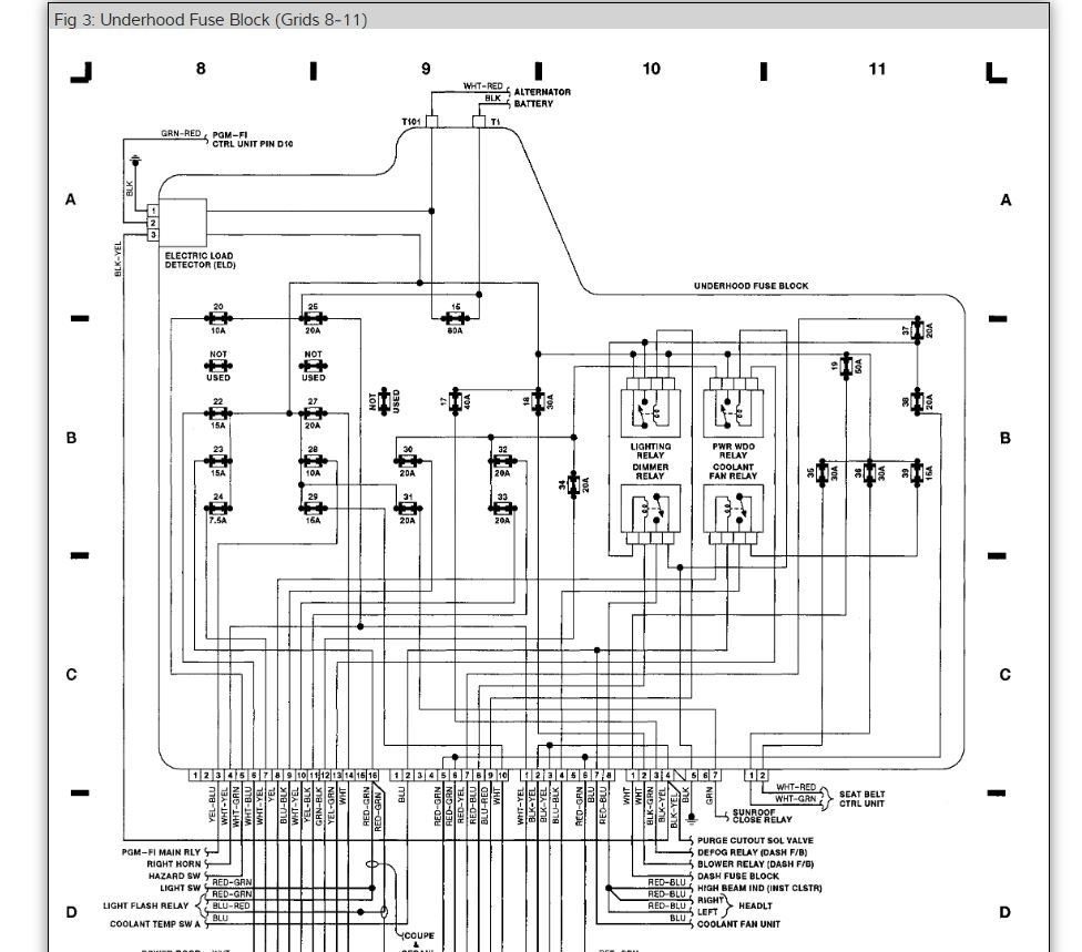 Distributor Wiring Diagram I Need A Engine For 1995 Honda Accord Color Thumb