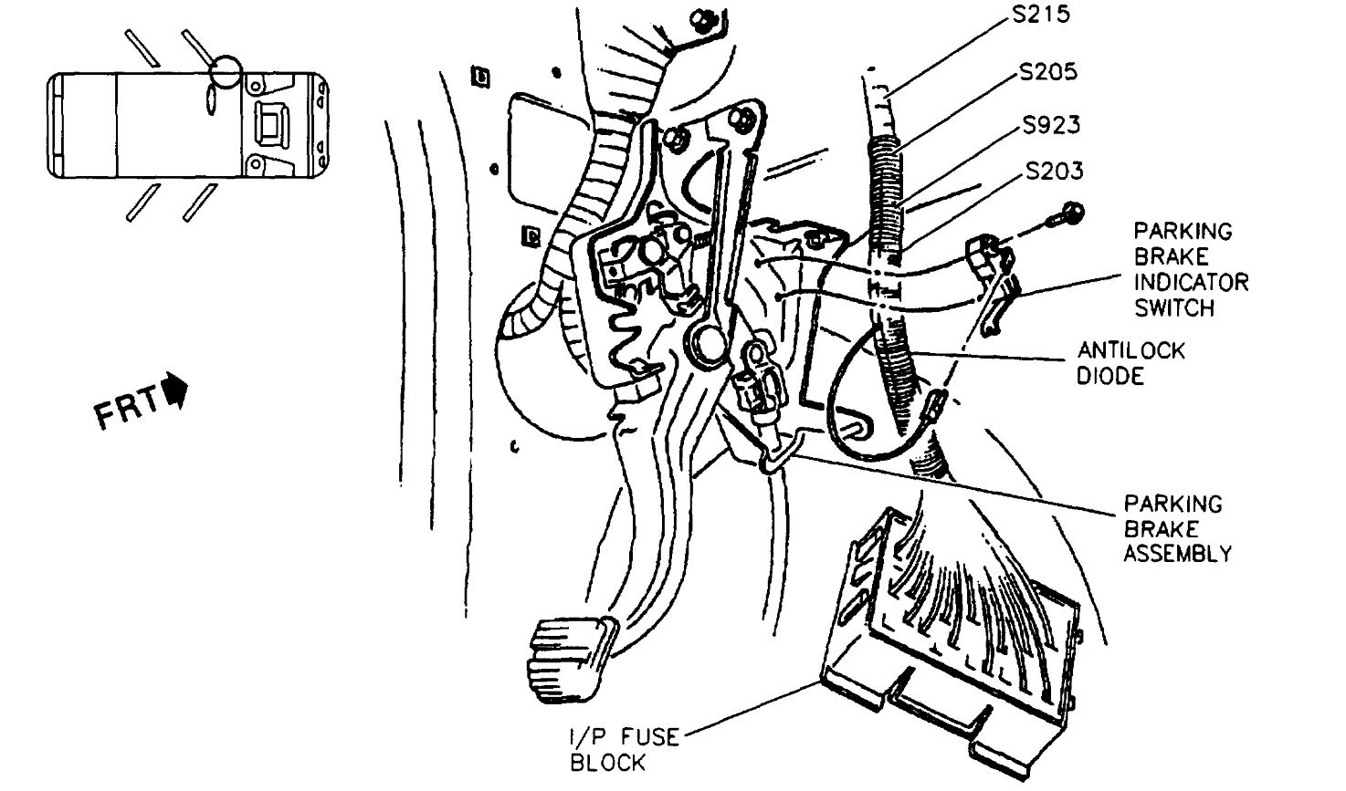 Fuse Box My Car Is Used And The Only Owners Manual With 1999 Pontiac Bonneville Diagram Thumb