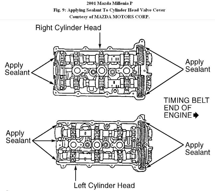 2001 mazda millenia 2 5 engine diagram