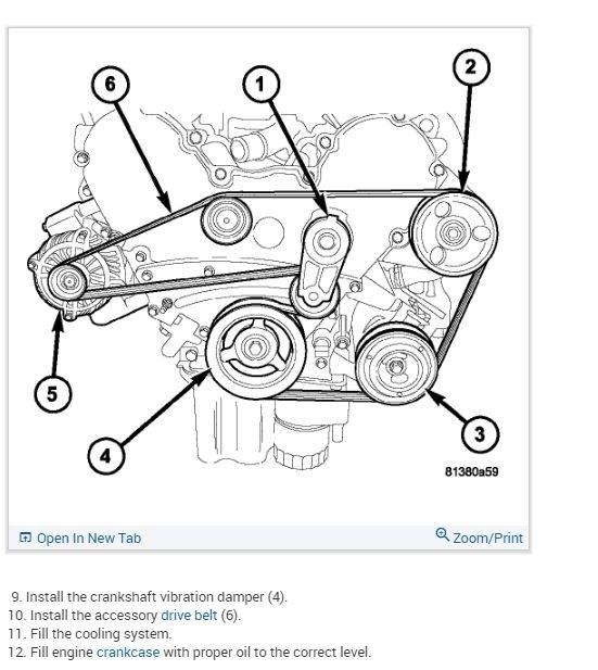Dodge 3 5 Engine Serpentine Belt Diagram - Reading ... on