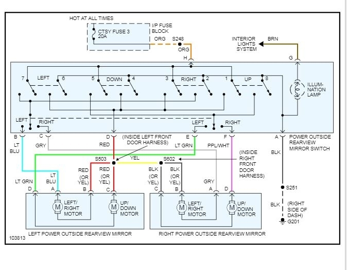 power window switch wiring diagram swapped out doors on my simple power window switch diagram power window wiring diagram single #9