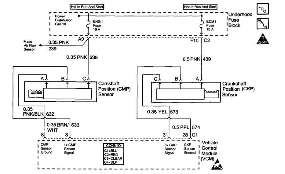 Crankshaft Sensor  Code P0336  Wires Came Out Of The Plug