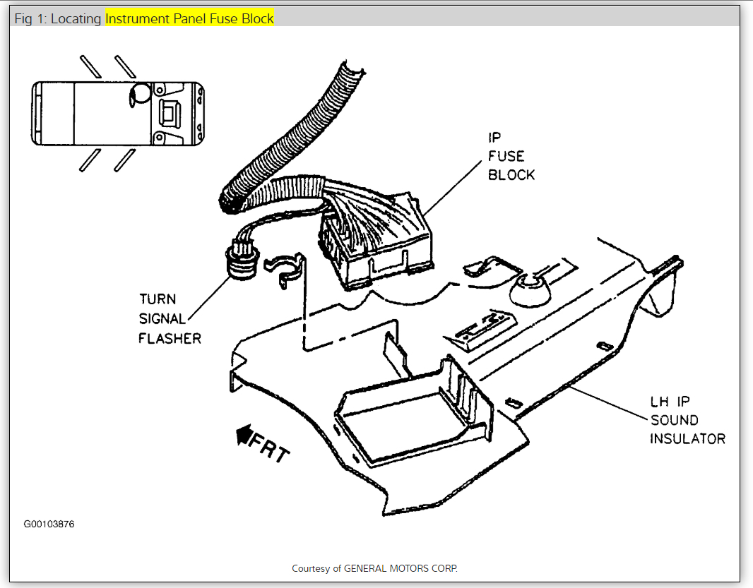 2001 oldsmobile aurora fuse box diagram