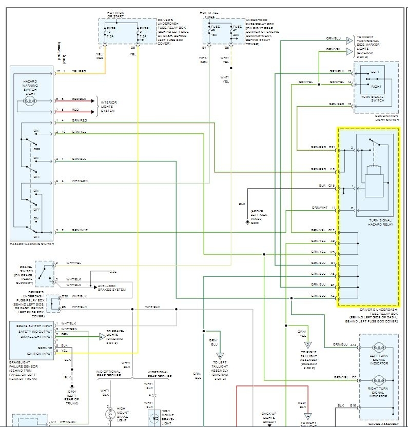 [DIAGRAM_38EU]  Turn Signals Don't Work: Good Day Good People, Can You Tell Me... | Honda Accord Turn Signal Wiring Diagram |  | 2CarPros