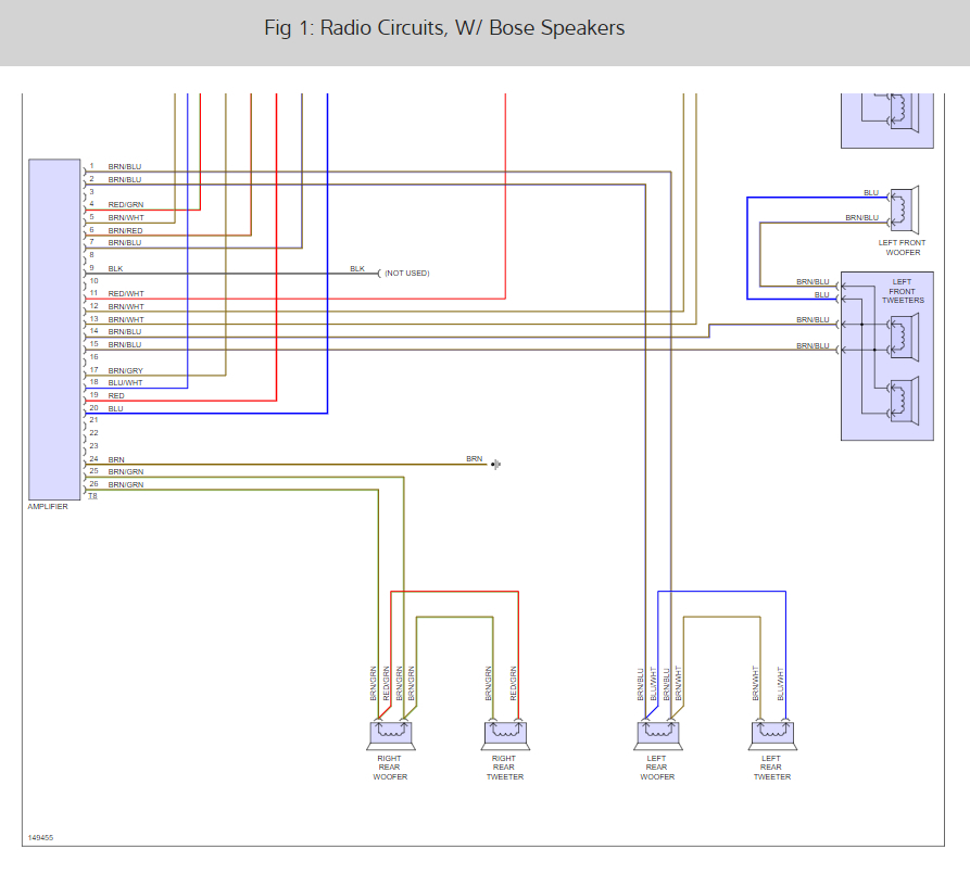 Need Color Coded Factory Radio Wiring  Ok  So I Bought