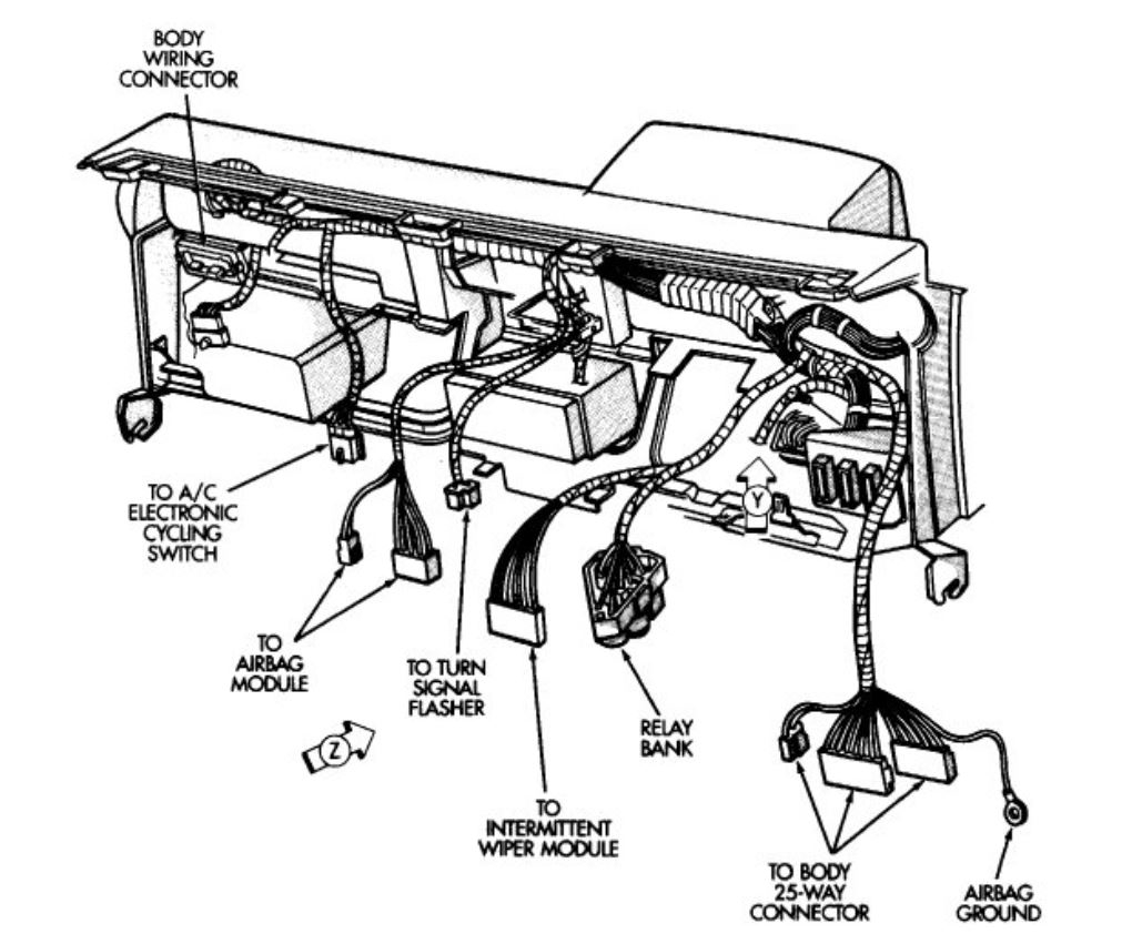 Wiring Diagram 1990 Dodge Shadow Get Free Image About Wiring Diagram
