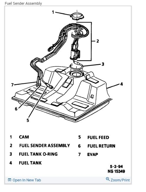 Fuel Pump Where Is The Fuel Pump Located On Car How Do You