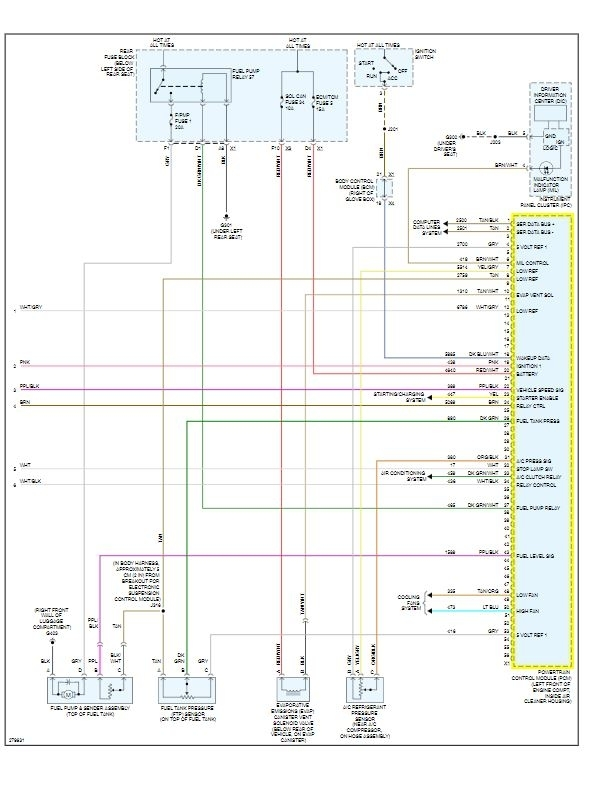 2008 Buick Allure Wiring Diagram