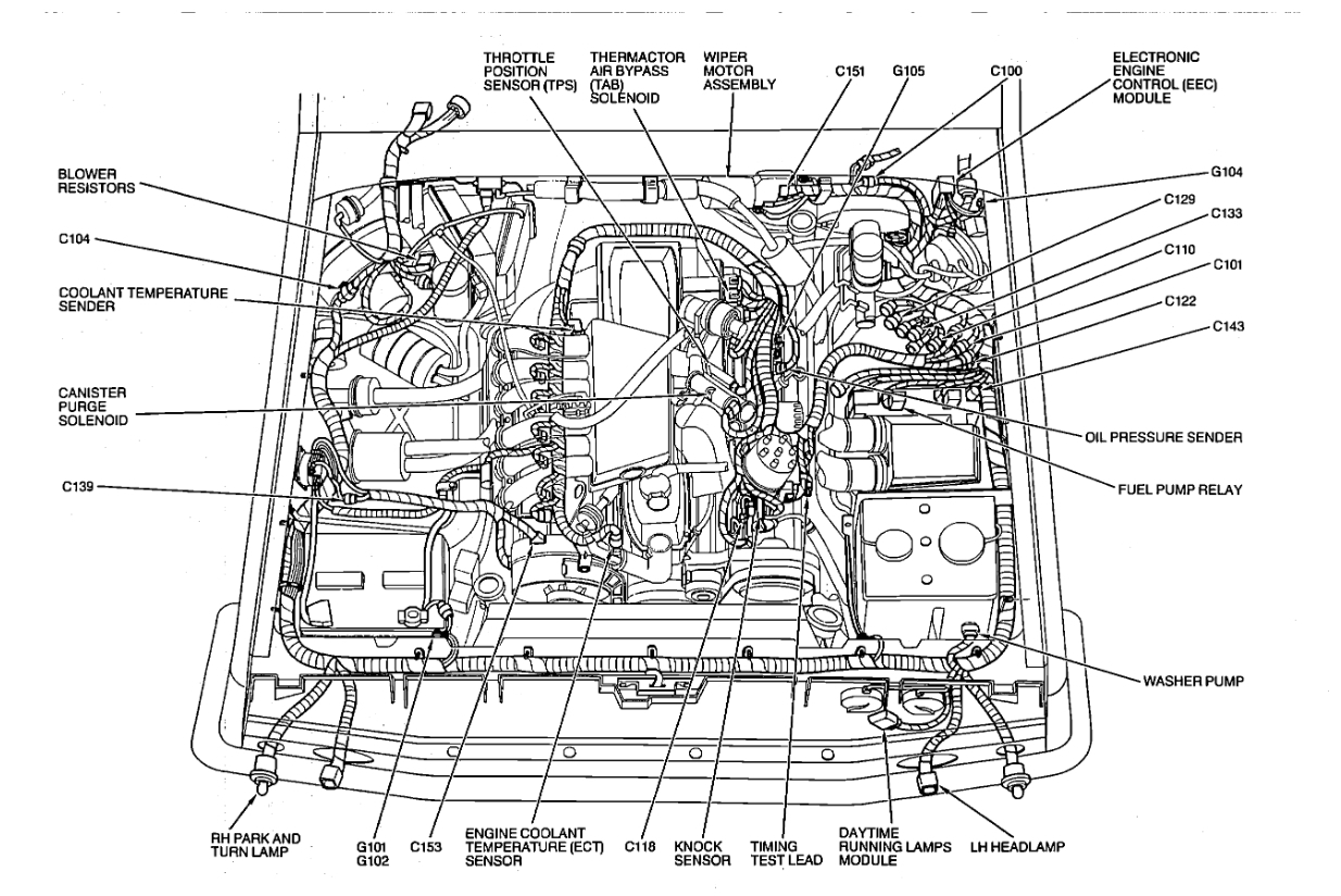 1984 f250 fuel system diagram wiring diagrams Kyocera Mita Diagram