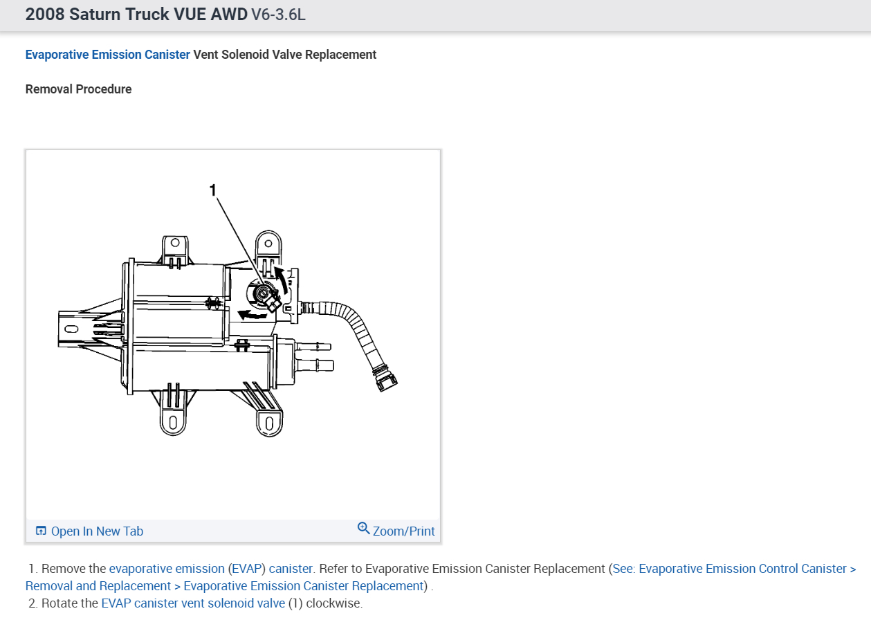 Purge Solnoid Where Is The Emissions Solinoid Valve Located 3 6l V6 Engine Diagram Thumb