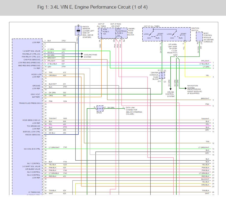 2002 Buick Rendezvous Fuel Pump Wiring Diagram - Wiring Diagrams Schematic