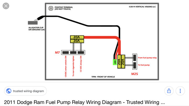 2010 Dodge Ram 1500 Fuel Pump Wiring Diagram