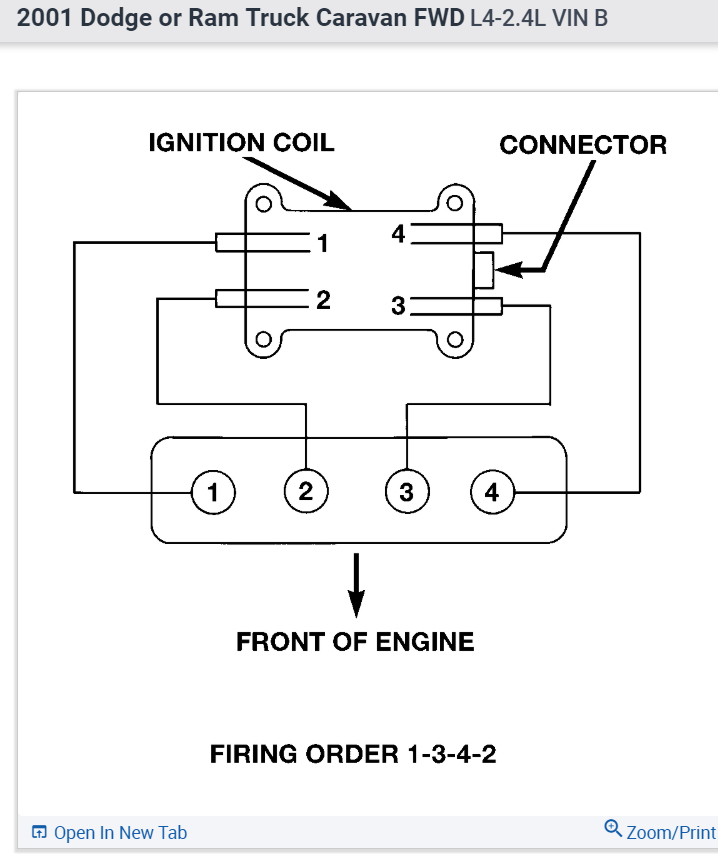 2001 caravan wiring diagram ignition firing order or wiring diagram i need to know the firing order so  firing order or wiring diagram i need