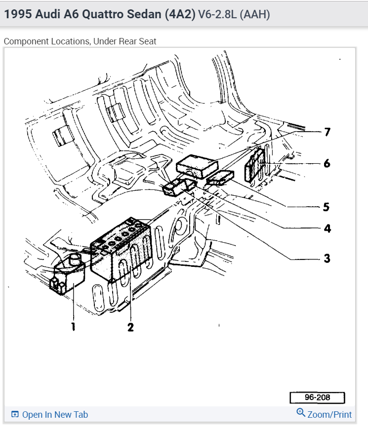 2001 Audi A6 Battery