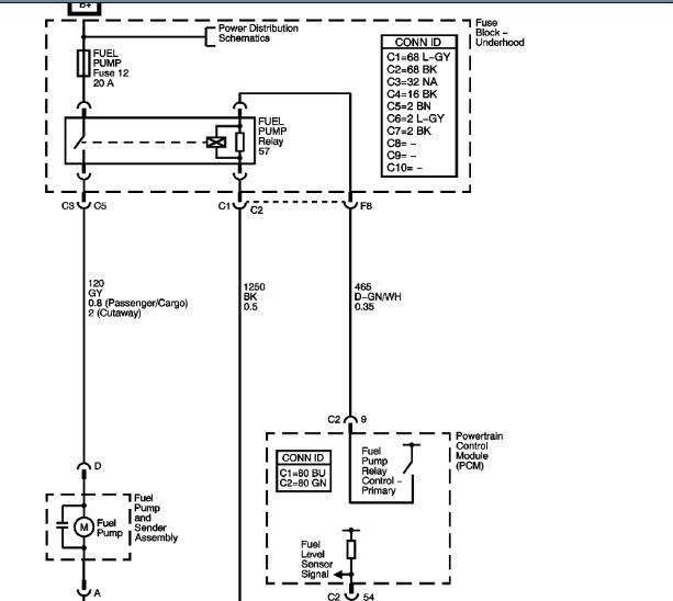 2008 Chevy Silverado 1500 Fuel Pump Wiring Diagram ...