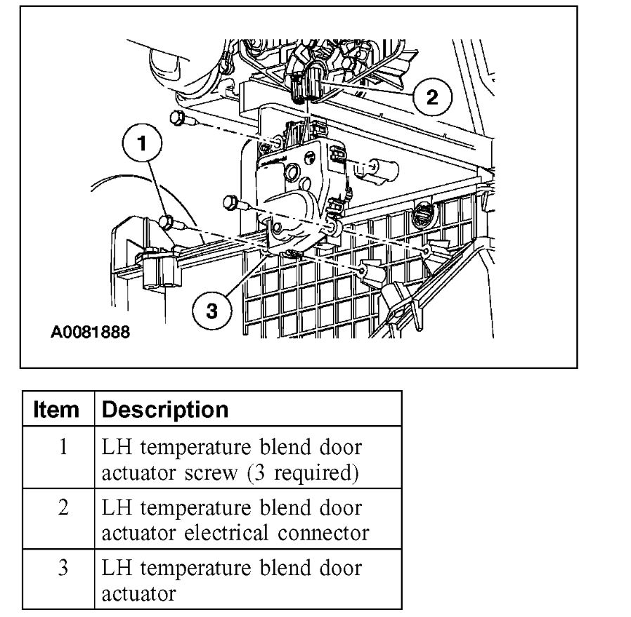 2005 Ford Freestar Heater Partially Working: Heater Problem 2005