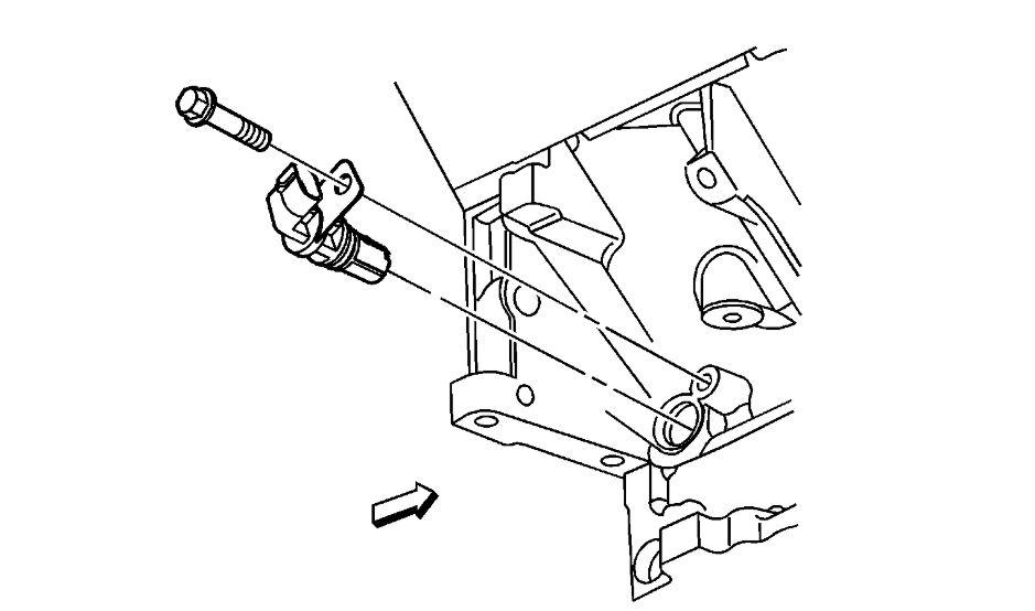 2007 Impala Crank Sensor
