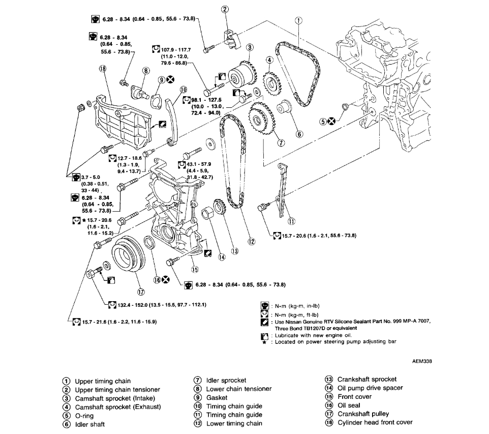 Camshaft Timing Marks?: I Am Replacing a Head Gasket on My 1.8 ... | 1998 Nissan Sentra Engine Diagram |  | 2CarPros