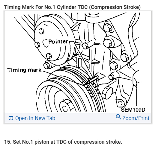 Need Timing Marks for Camshafts: Need Timing Marks for