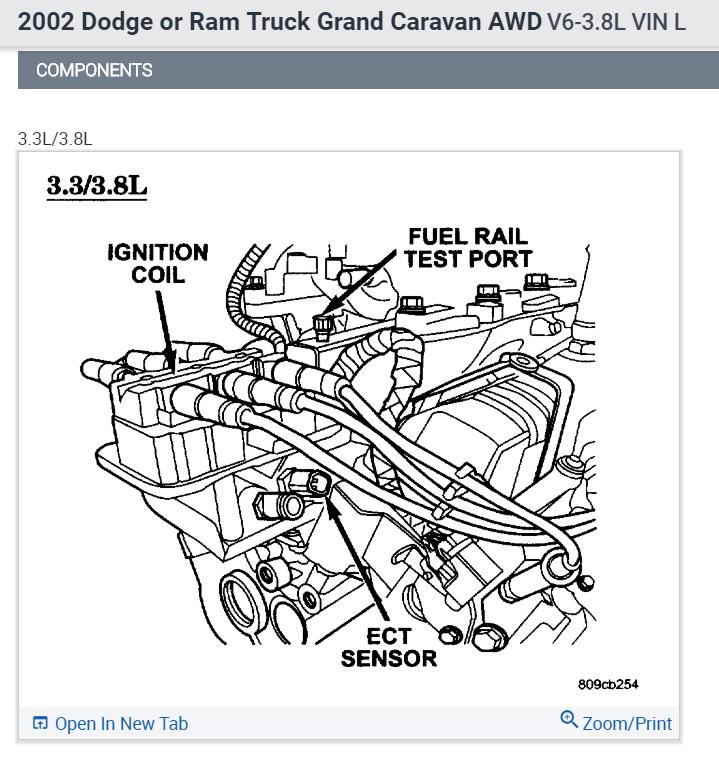 Coolant Sensor Question: Coolant Temperature Sensor: I Have A 2002 Dodge Grand