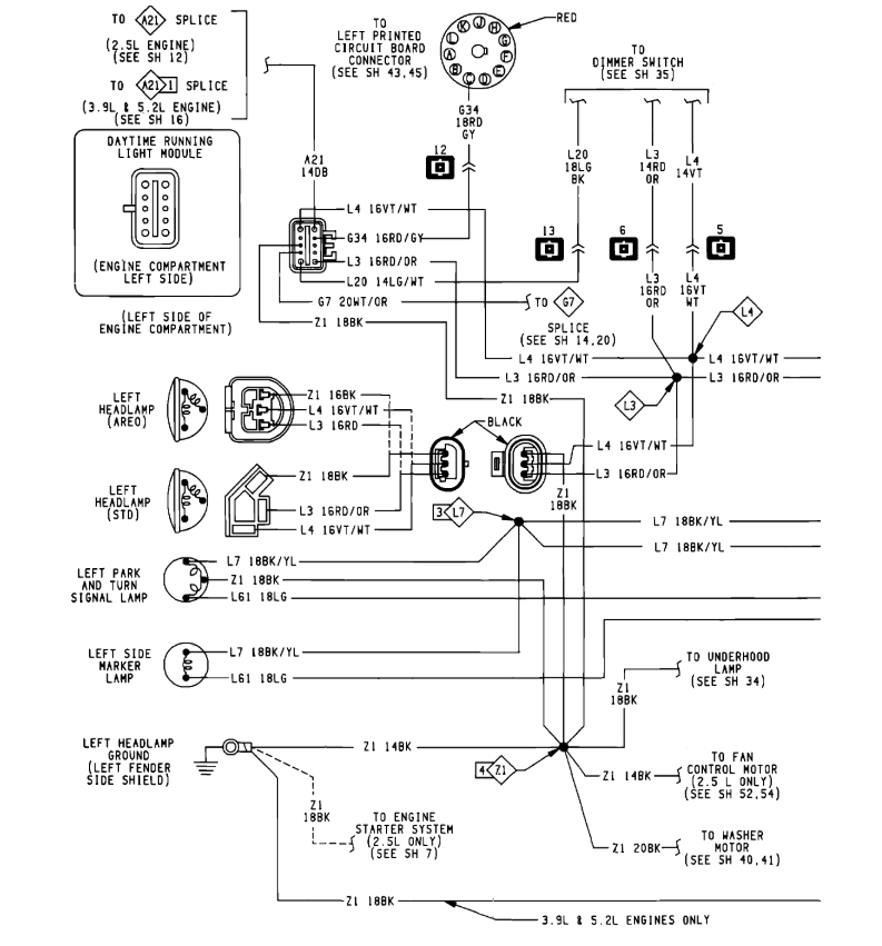 File  1991 Dodge Pickup D350 Wiring Diagram