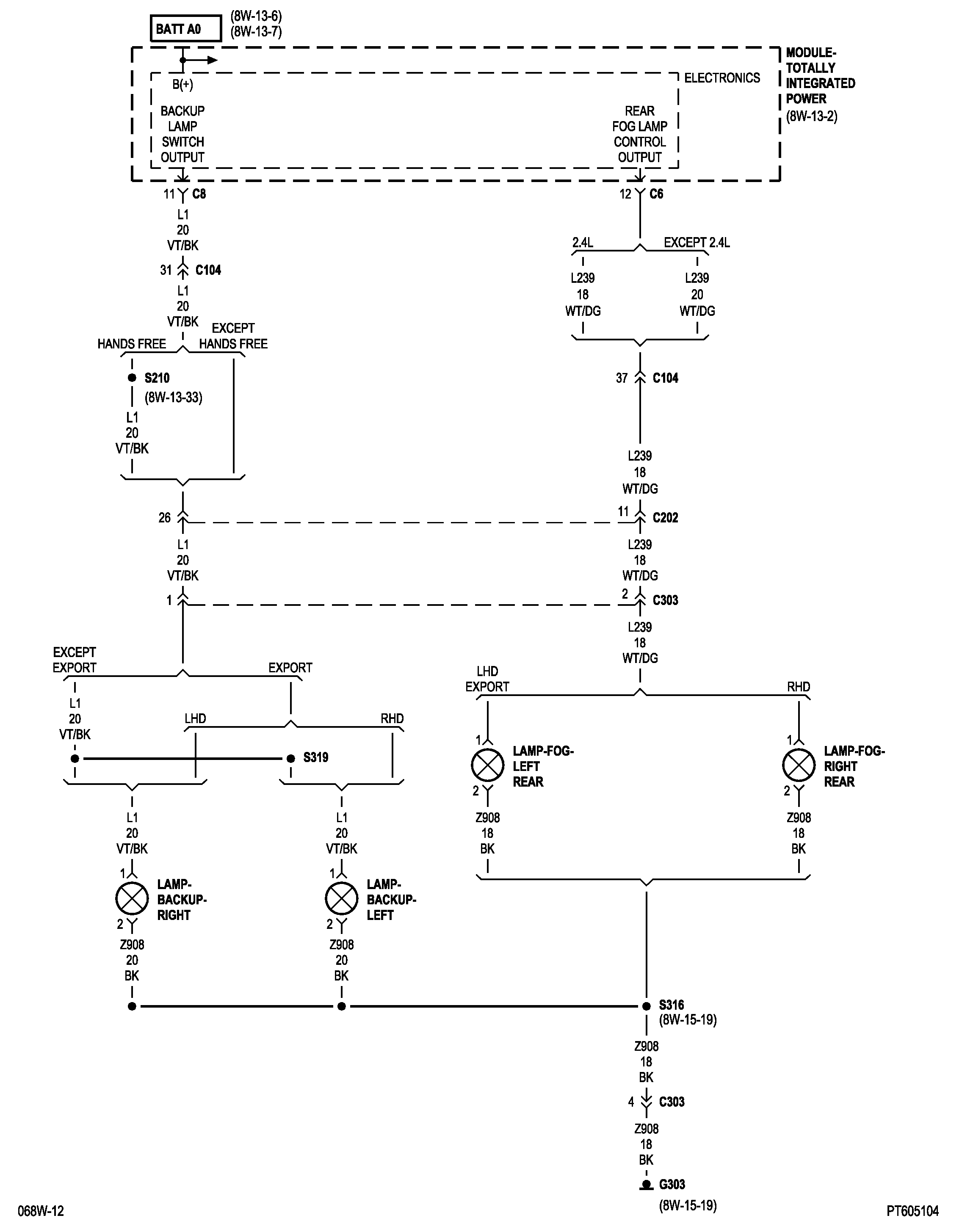 Pt Cruiser Pcm Wiring Diagram Simple Diagrams 06 Tcm Scematic Tacoma Back Up