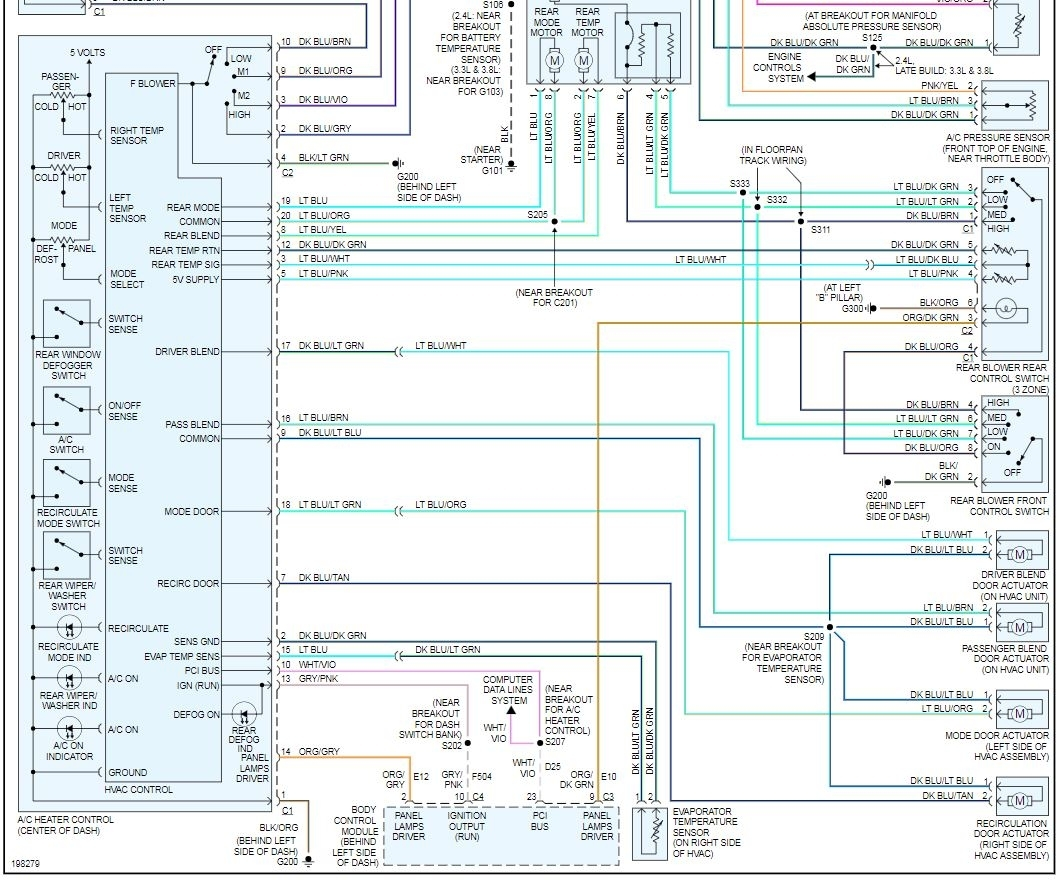 heater blower not working: the heater blower isnt working, i cant ... 2005 chrysler town and country wiring diagram  2carpros