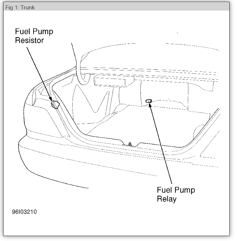 Fuel Pump Relay Location Where Is The Fuel Pump Relay Main Relay