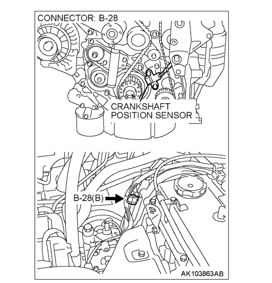 Engine Shut Off While Driving, Code P0335