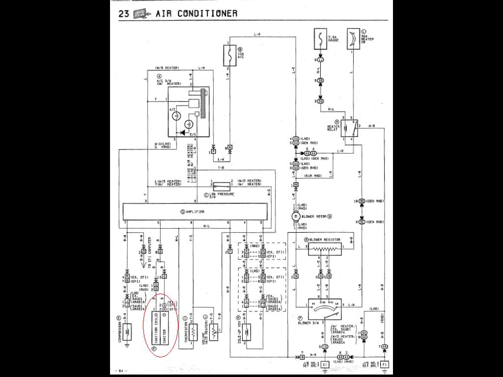 Toyota Electronic Ignition Wiring Diagram Will Be A 20r Distributor Kohler Pickup Diagrams Schematic