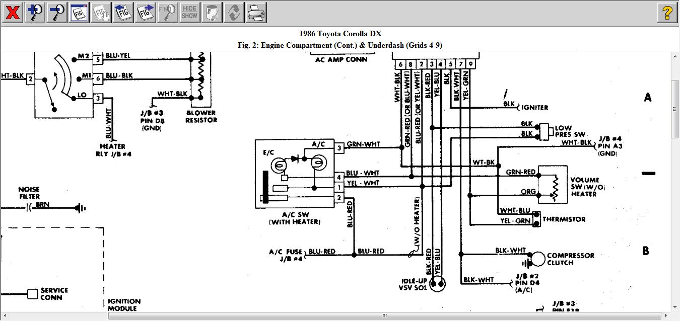original toyota distributor wiring on toyota download wirning diagrams 1986 toyota wiring diagram at alyssarenee.co