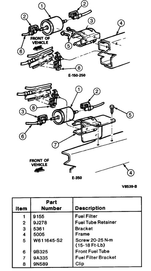 how to change the fuel filter  does it take special tools to