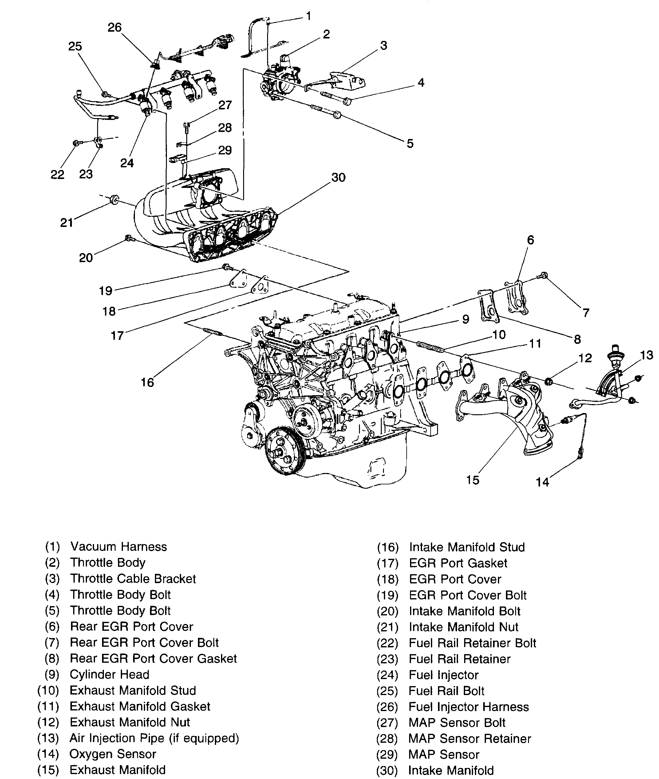Ignition Switch Wiring Diagram 1998 Chevy S10 2.2 from www.2carpros.com