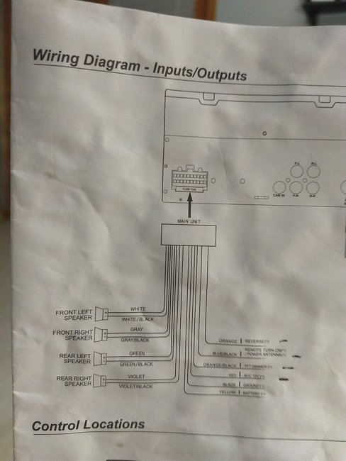 radio wiring diagrams please i have a white wire with