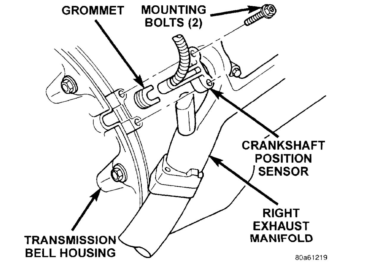 Crank Sensor Replacement  Replacing Crankshaft Position Sensor