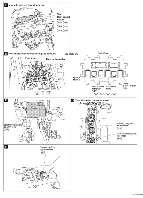 2008 Nissan Altima Hybrid Fuse Box Diagram