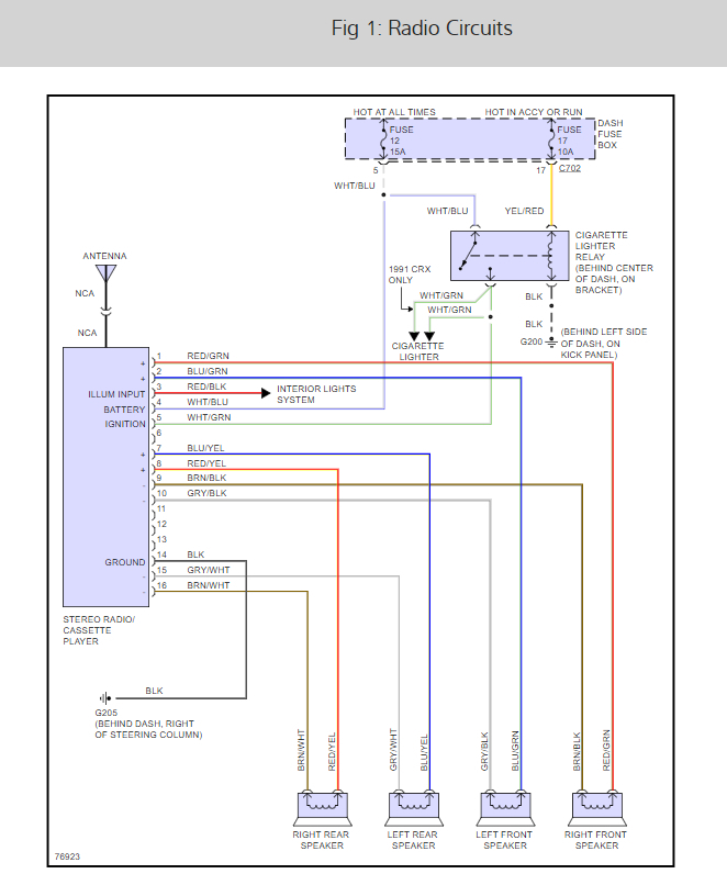 Radio Wiring Diagram: Ok I Have a Radio I'm Trying T ...2CarPros