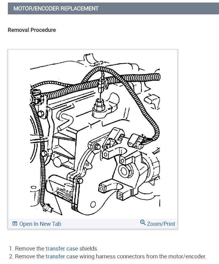 [DIAGRAM_38ZD]  4wheel Drive Will Not Engage, Encoder?: 4wheel Drive Will Not ... | 1999 S10 Encoder Motor Wiring Diagram |  | 2CarPros