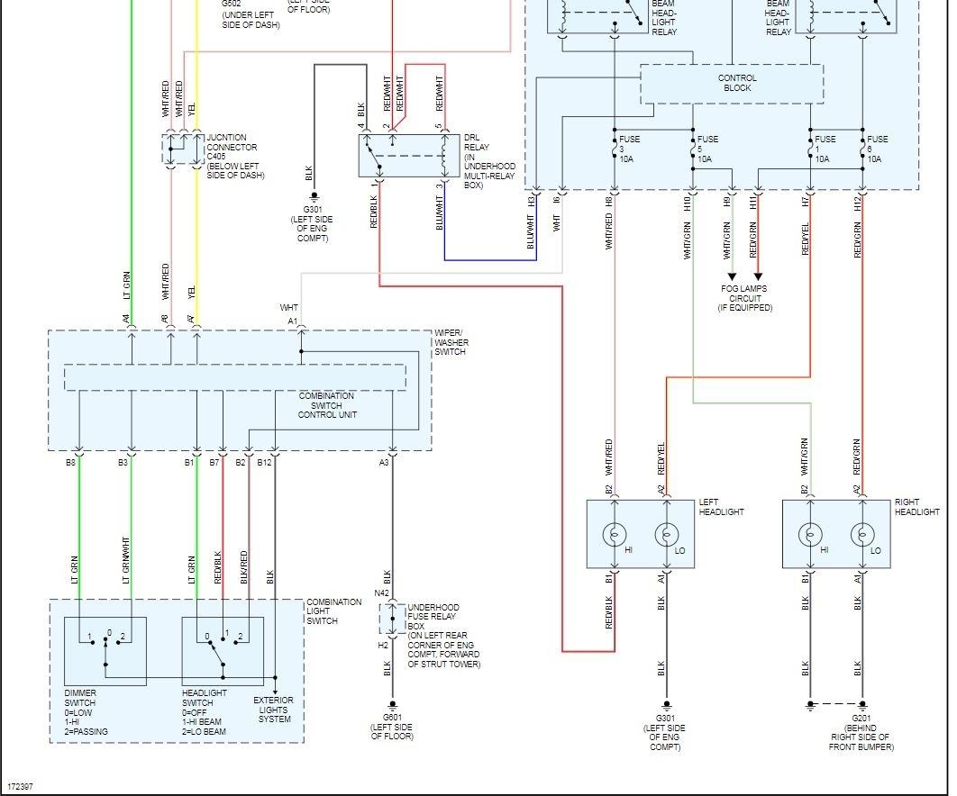 [SCHEMATICS_4FD]  High Beam on Right Side Won't Work | 1993 Honda Accord Headlight Wiring Diagram |  | 2CarPros