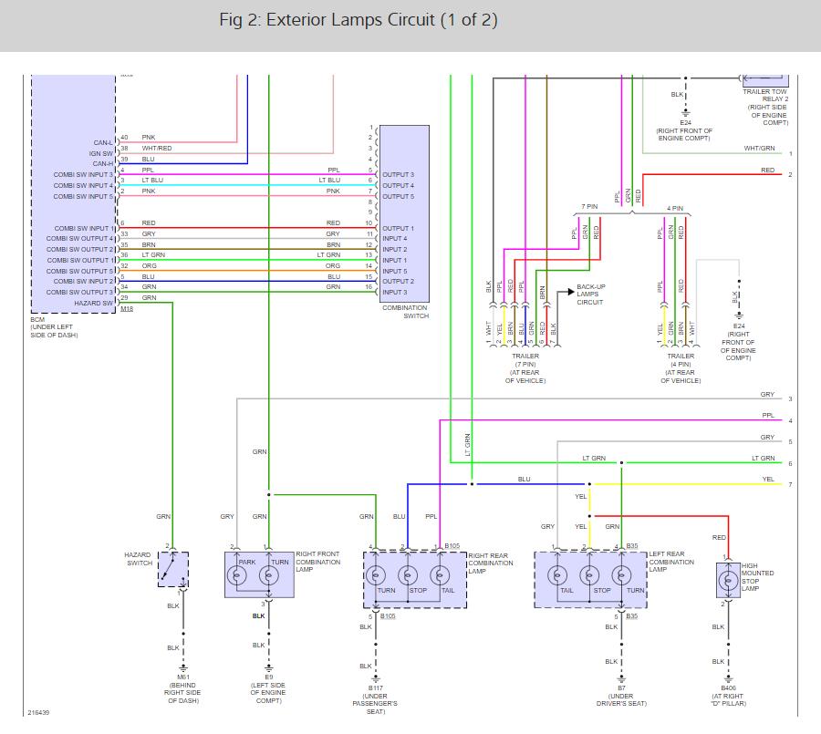 2005 Nissan Pathfinder Trailer Wiring Diagram