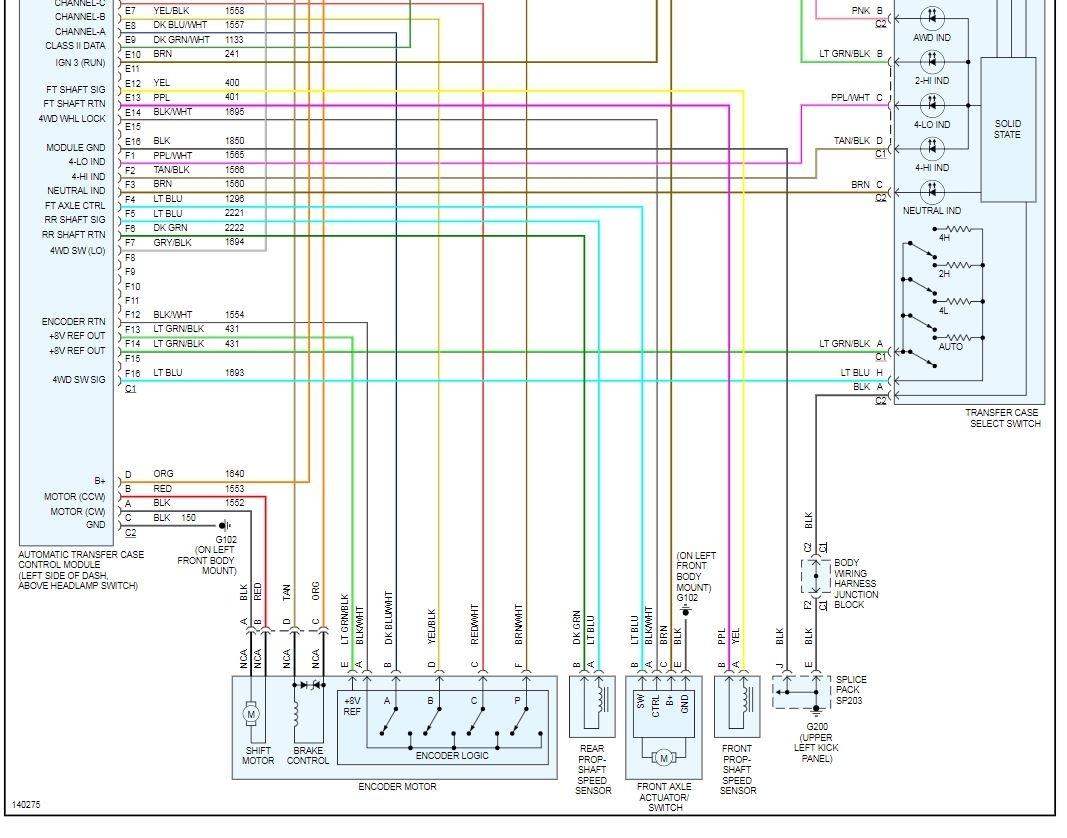 original  Vada Transfer Case Wiring Diagram on