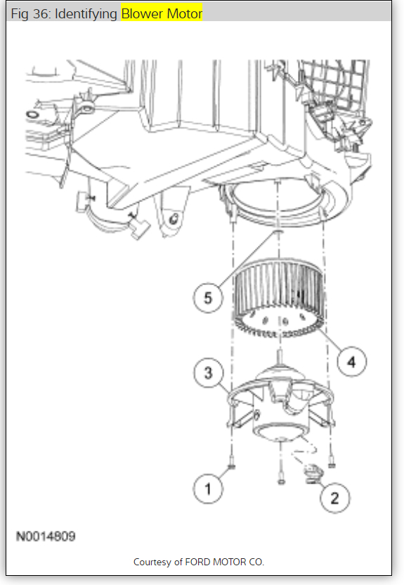 Circuit Electric For Guide  2007 F150 Fuse Diagram Blower Motor