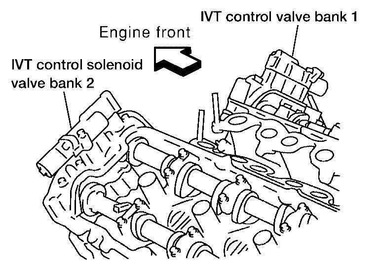 98 Nissan Altima Idle Air Control Valve