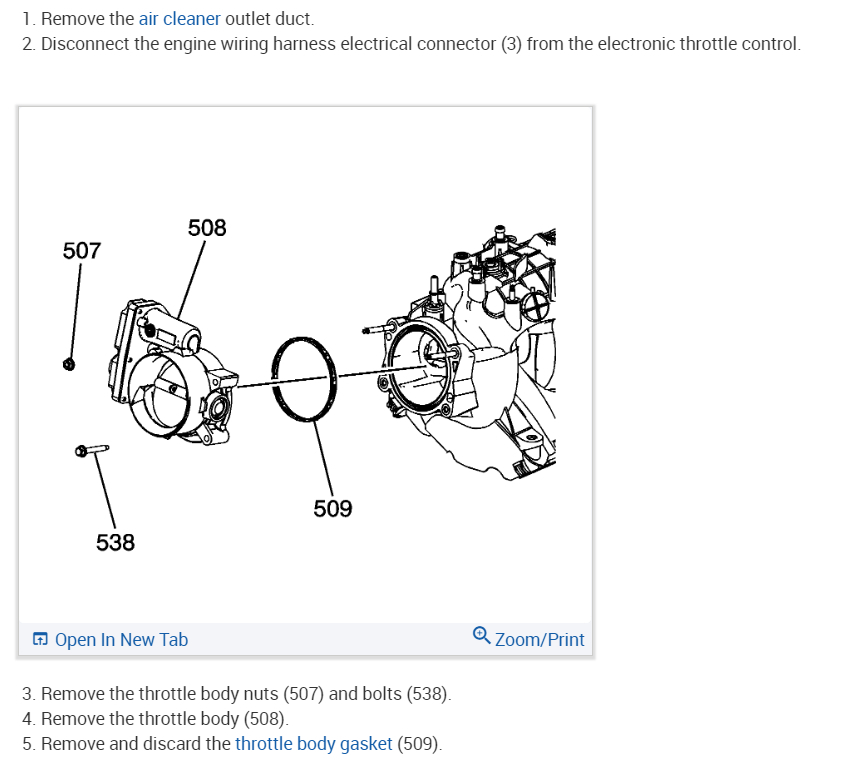 Throttle Body Relearn: I Replaced the Throttle Body on My