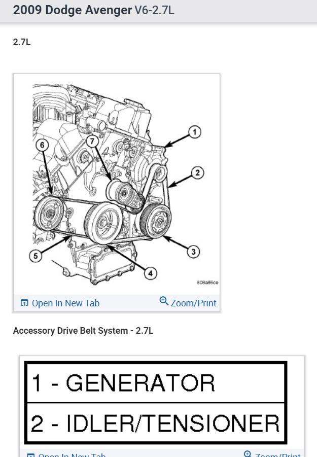 Serpentine Belt Diagram   We Changed The Alternator And