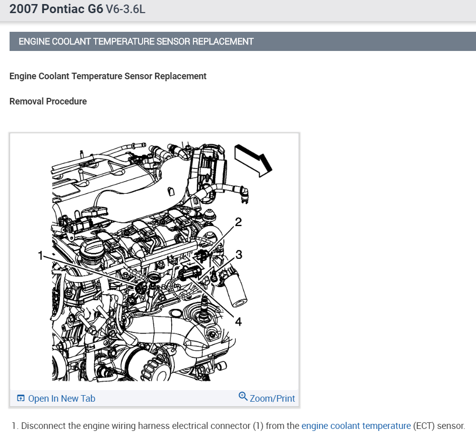 coolant sensor location i cant find the location of the coolant  g6 coolant temperature wiring diagram #4